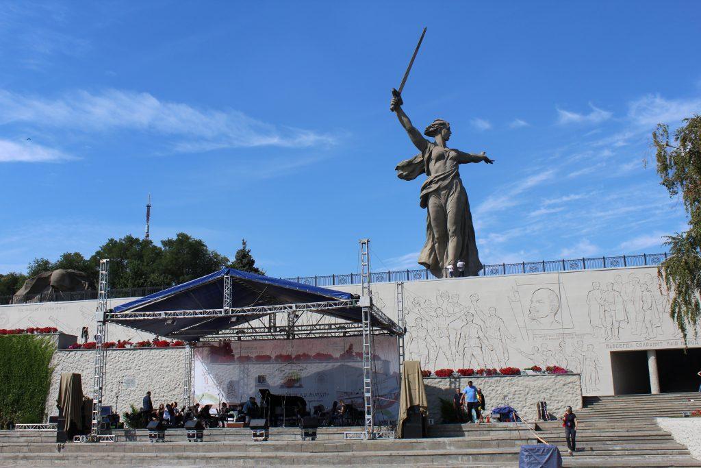 Statue Mère-Patrie Volgograd